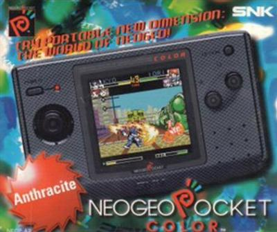 NeoGeo Pocket Color System [Anthracite] Cover Art