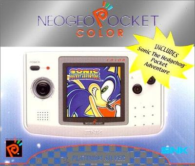NeoGeo Pocket Color System [Platinum Silver] Cover Art