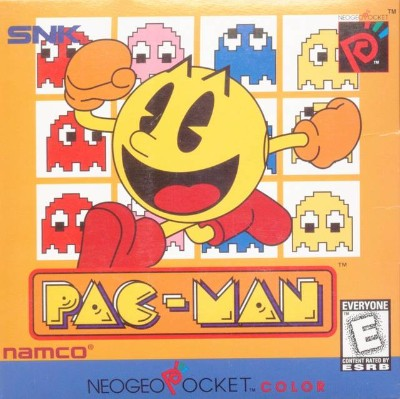Pac-Man Cover Art