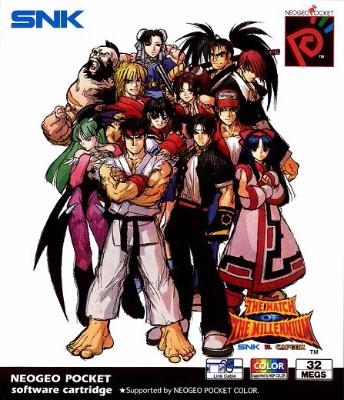 SNK vs. Capcom: Match of the Millennium Cover Art