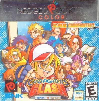SNK vs. Capcom: Card Fighter's Clash [SNK Version] Cover Art