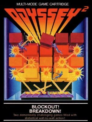 Blockout! / Breakdown! Cover Art