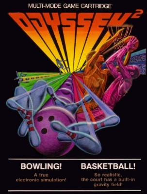 Bowling! / Basketball! Cover Art