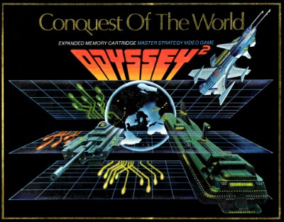 Conquest of the World Cover Art