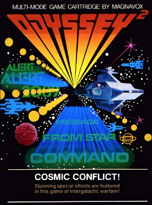 Cosmic Conflict! Cover Art