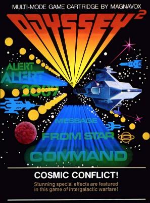 Cosmic Conflict! Cover Art