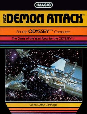 Demon Attack Cover Art