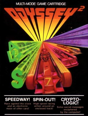 Speedway! / Spinout! / Crypto-Logic! Cover Art