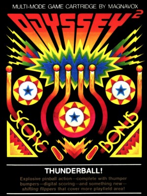 Thunderball! Cover Art
