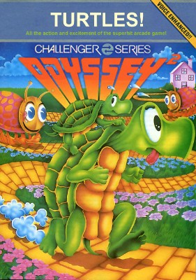 Turtles! Cover Art