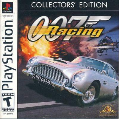 007 Racing [Collector's Edition] Cover Art