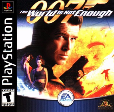 007: The World is not Enough Cover Art