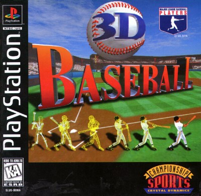3D Baseball Cover Art