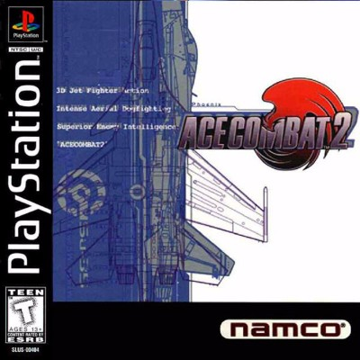 Ace Combat 2 Cover Art