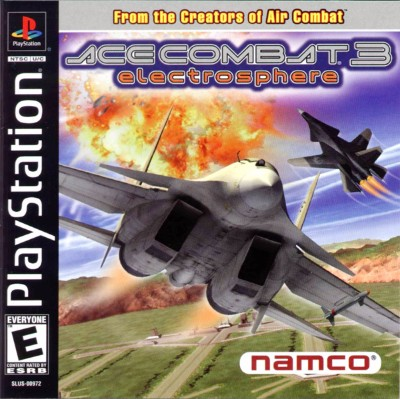 Ace Combat 3: Electrosphere Cover Art