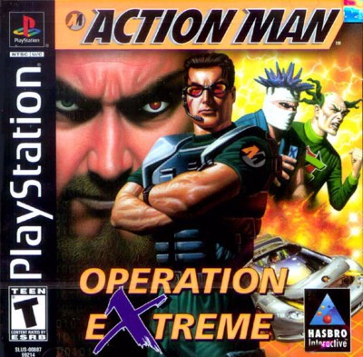 Action Man: Operation Extreme Cover Art
