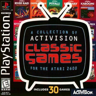 Activision Classics Cover Art
