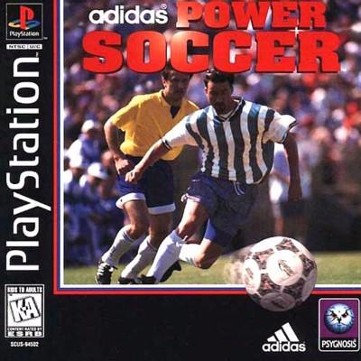 Adidas Power Soccer Cover Art
