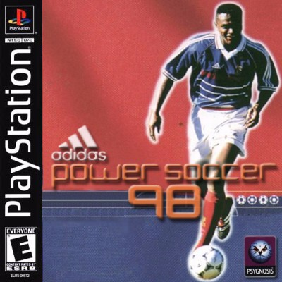 Adidas Power Soccer 98 Cover Art
