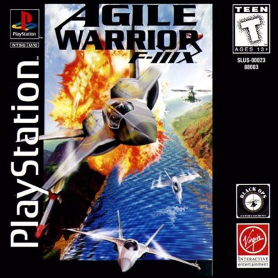 Agile Warrior F-111X Cover Art