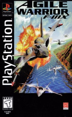 Agile Warrior F-111X [Longbox] Cover Art