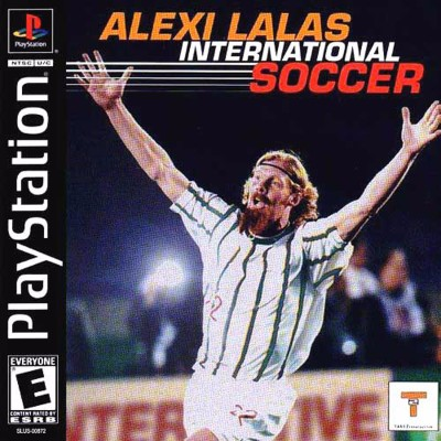 Alexi Lalas International Soccer