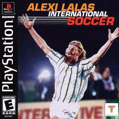 Alexi Lalas International Soccer Cover Art