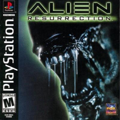 Alien Resurrection Cover Art