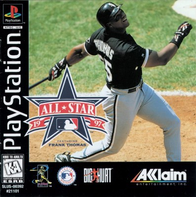 All-Star Baseball 1997 Cover Art