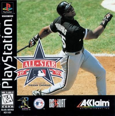 All-Star Baseball 1997 Cover Art