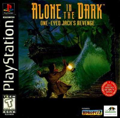 Alone in the Dark: One Eyed Jack's Revenge Cover Art