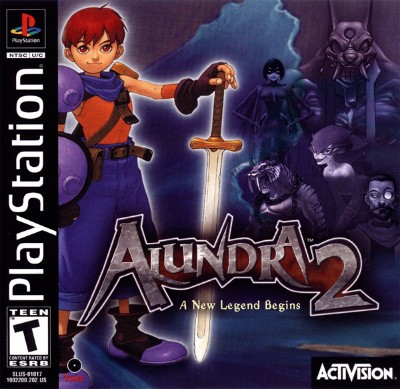 Alundra 2: A New Legend Begins Cover Art