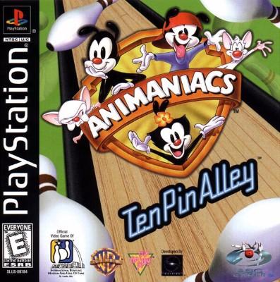 Animaniacs: Ten Pin Alley Cover Art