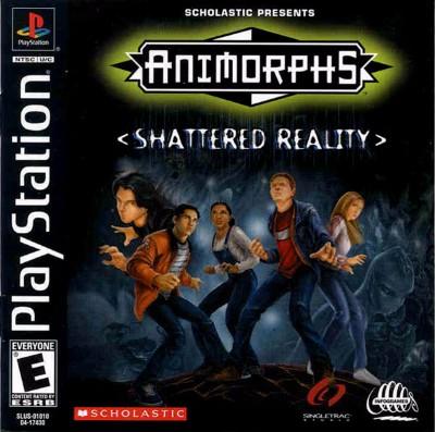 Animorphs: Shattered Reality Cover Art