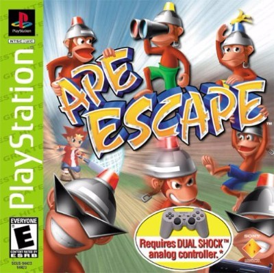 Ape Escape [Greatest Hits] Cover Art