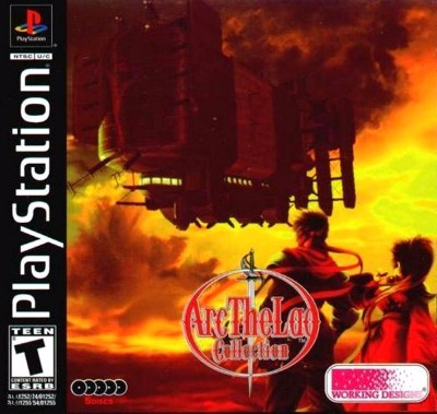 Arc the Lad Collection Cover Art