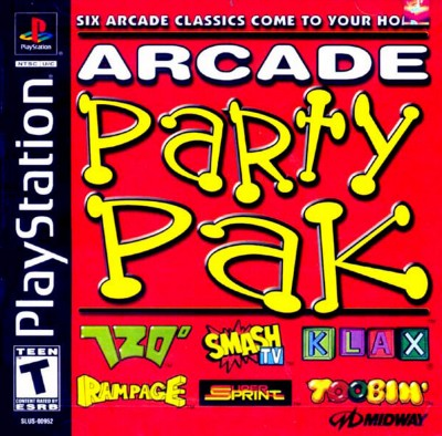 Arcade Party Pak Cover Art