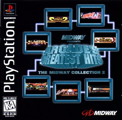 Arcade's Greatest Hits: The Midway Collection 2 Cover Art