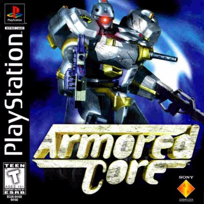 Armored Core Cover Art