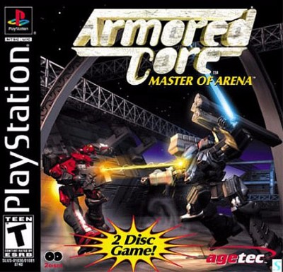 Armored Core: Master of Arena Cover Art