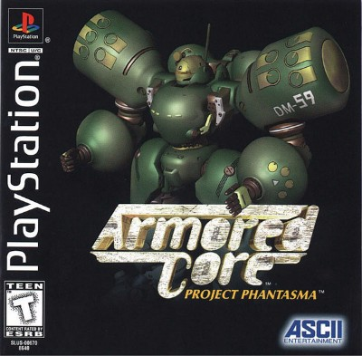 Armored Core: Project Phantasma Cover Art