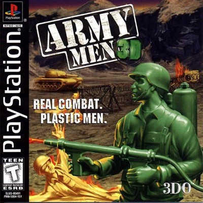 Army Men 3D Cover Art