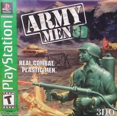 Army Men 3D [Greatest Hits] Cover Art