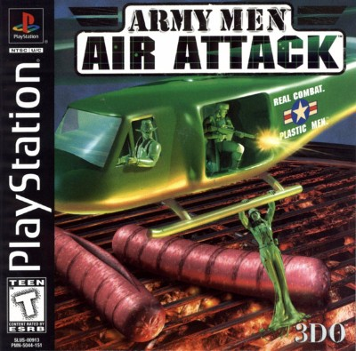 Army Men: Air Attack Cover Art