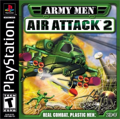 Army Men: Air Attack 2 Cover Art