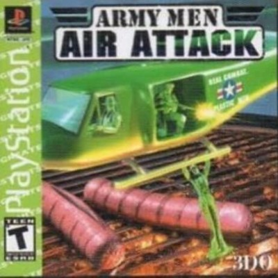 Army Men: Air Attack [Greatest Hits] Cover Art
