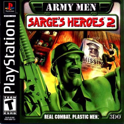 Army Men: Sarges Heroes 2 Cover Art