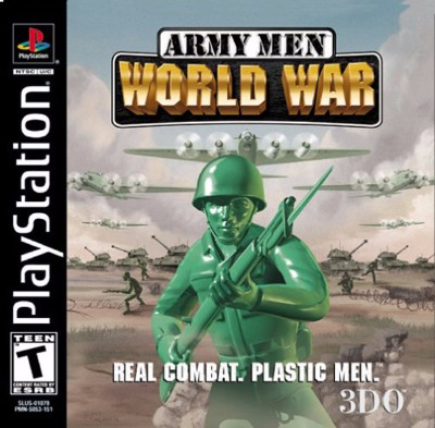 Army Men: World War Cover Art