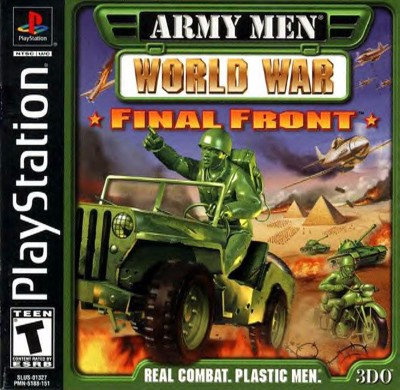 Army Men: World War: Final Front Cover Art