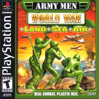 Army Men: World War: Land, Sea & Air Cover Art